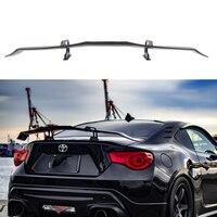 car styling G Style Carbon Fiber Rear Trunk Spoiler Wing For Toyota GT86 Subaru BRZ Scion FR S spoiler
