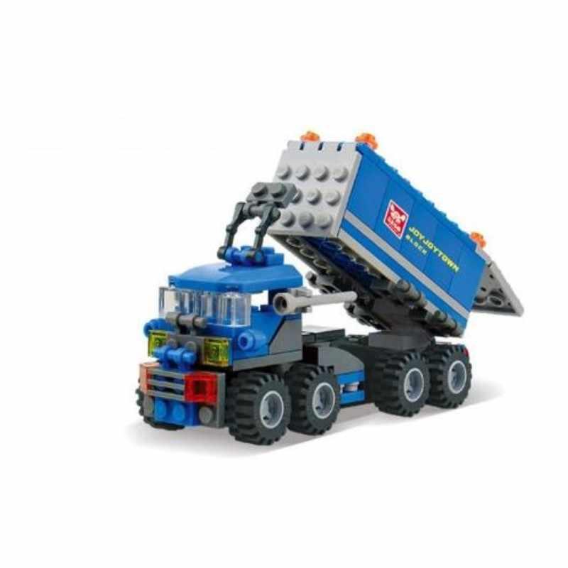 163pcs Deformato Camion Auto Blocchi di Costruzione Del Giocattolo Kit Educational FAI DA TE Per Bambini Di Natale Regali Di Compleanno