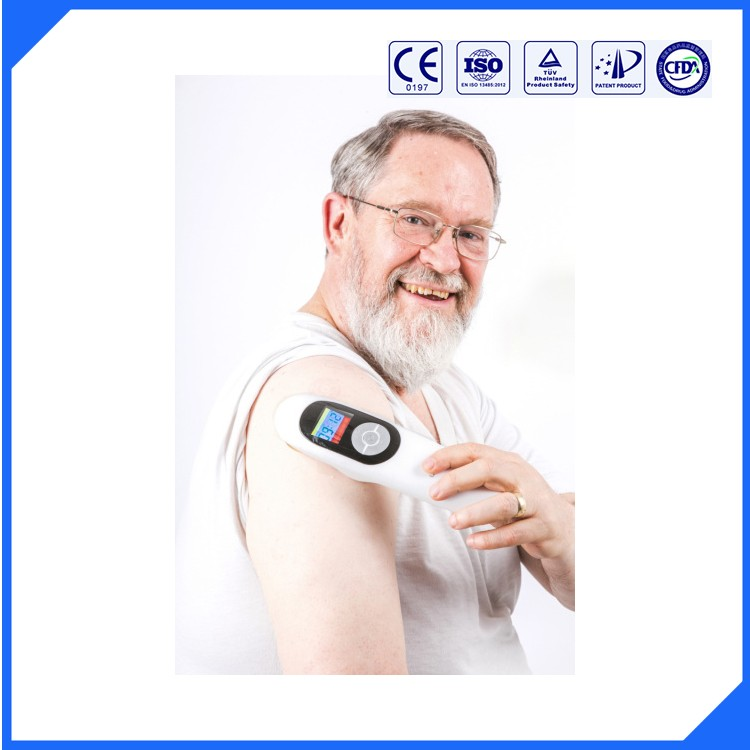Therapeutic Laser Low Level Laser Therapy LLLT Pain Relief Therapy Apparatus 808nm body pain back shoulder elbow wrist pain relief laser healthcare 13 diode cold low level laser therapy device