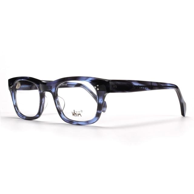 3f85e0a6640a Whim Retro glasses thick texture of Italy plate glasses myopia big box frame  Apollo-IV