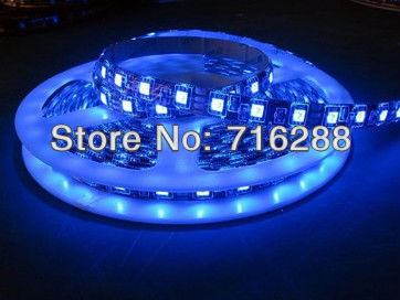 5m WS2811 LED digital strip,60leds/m with 60pcs WS2811 built-in the 5050 smd rgb led chip,waterproof in silicon tube,DC5V input