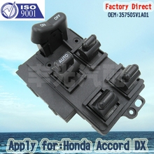 цена на Factory Direct Auto Electric Power Window Master Control Switch apply FOR 1994-1997 Honda Accord 35750SV1A01