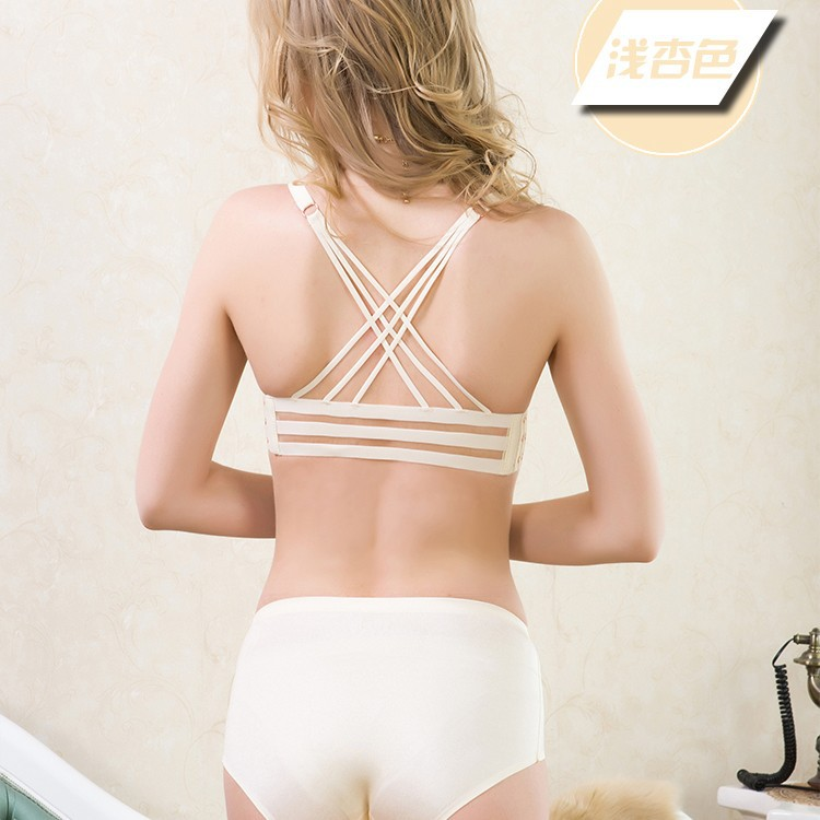 84109b8d24c74 2015 summer deep V sexy behind the United States and cross strap ...