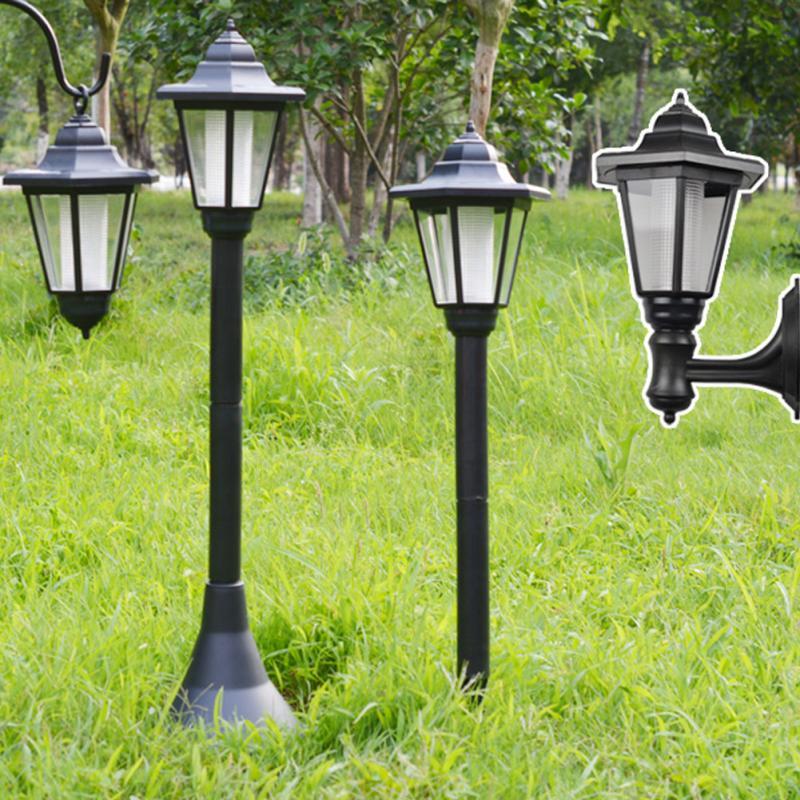 Solar Power Garden Light Outdoor Street Home Lawn Lamp Nightlight Ground/Floor/Wall Lamp LED Decor Solar Power Streetlight