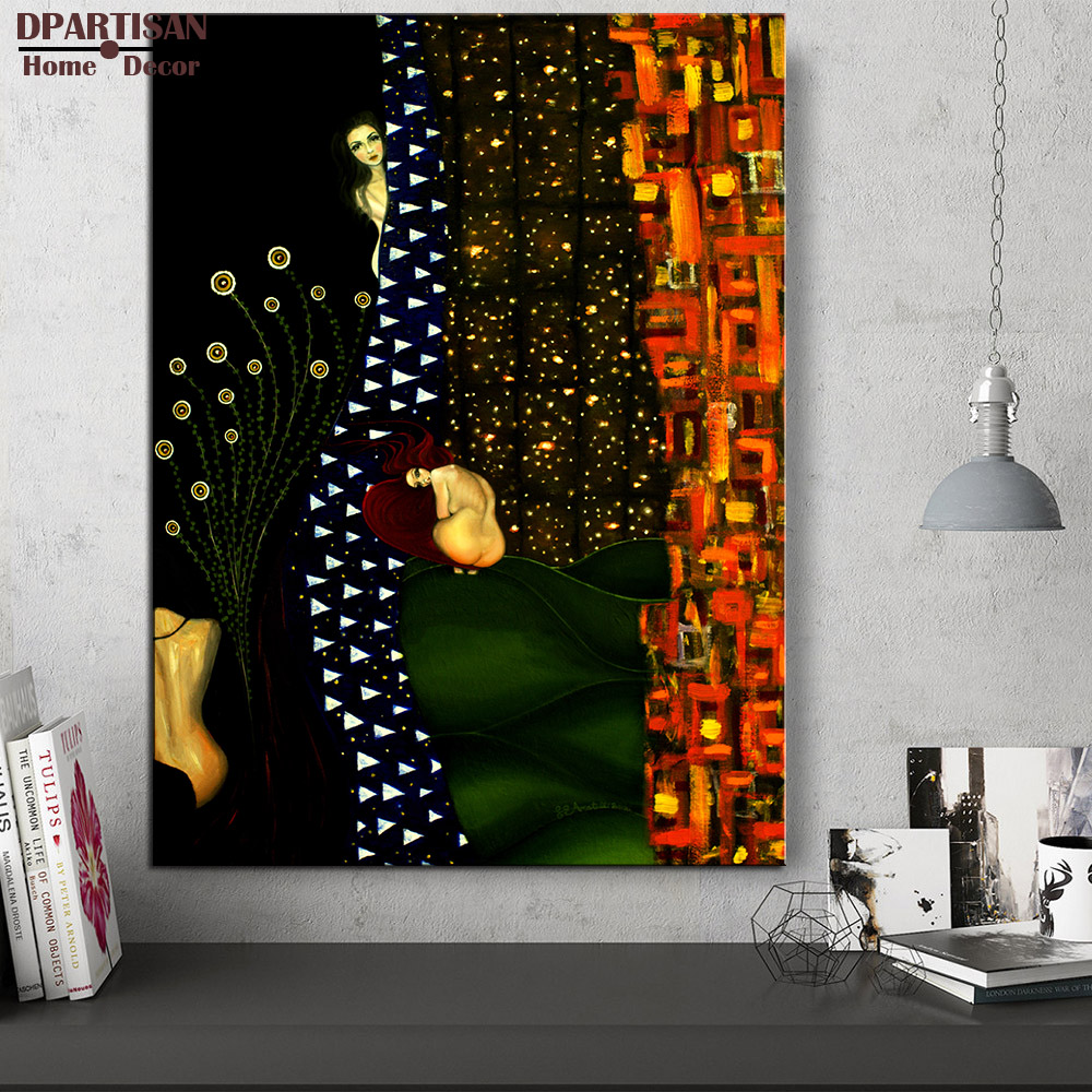 1a62b3988af45 Gustav-KLIMT-giclee-print-CANVAS-WALL-ART-decor-poster-oil-painting-print -on-canvas-free-shipment.jpg