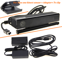 2019 Kinect 2 0 3 0 Sensor + AC Adapter Netzteil für Xbox one S/X/Windows PC Für XBOXONE Kinect sensor + TV Clip