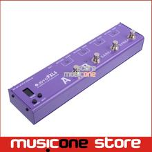 JOYO PXL-4 4 Loops Purple Guitar Programmable Effect Pedal Looper Switcher Router Looping System WAVE-X For Boss Mooer(China (Mainland))