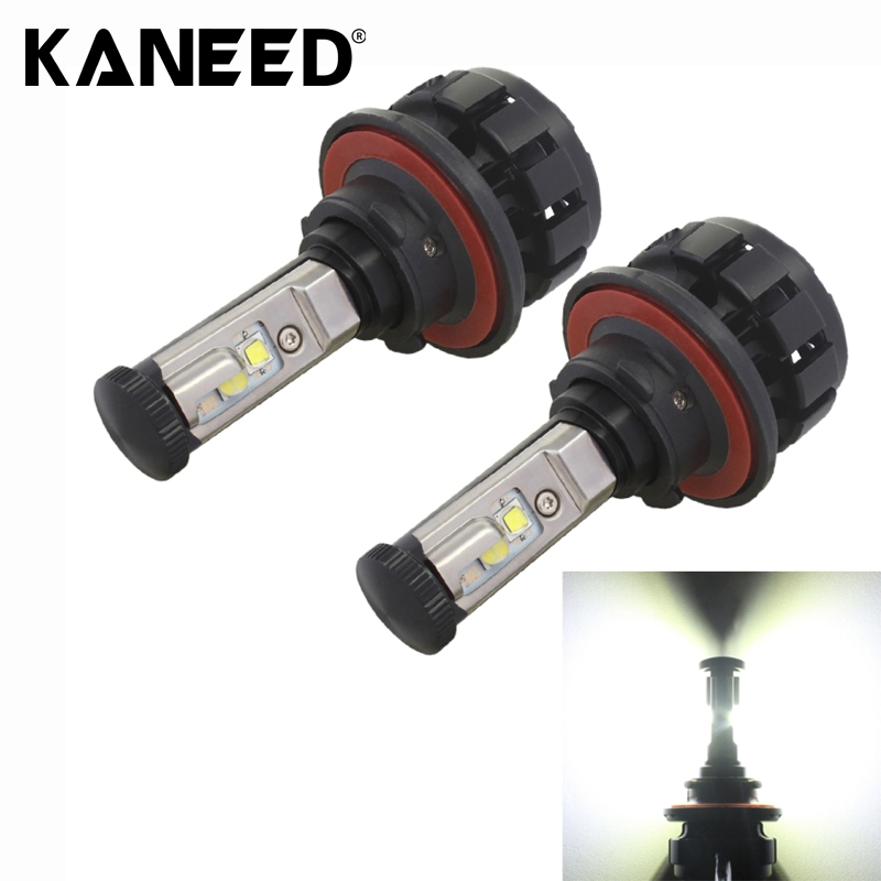 2 PCS MZ H13 50W 6000lm 6000K XHP50 + XML2 LED Lamps Waterproof Car LED Headlight DC 9-30V White Light Free Shipping