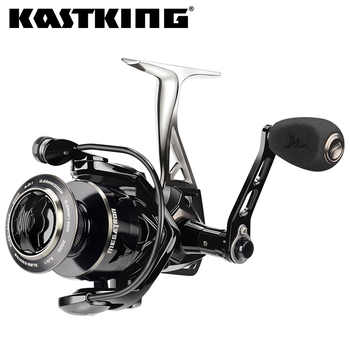 KastKing Megatron Spinning Fishing Reel 7+1 Ball Bearings 21KG Max Drag 5.0:1/4.5:1 Gear Ratio Saltwater Spinning Fishing Coil - DISCOUNT ITEM  48% OFF Sports & Entertainment