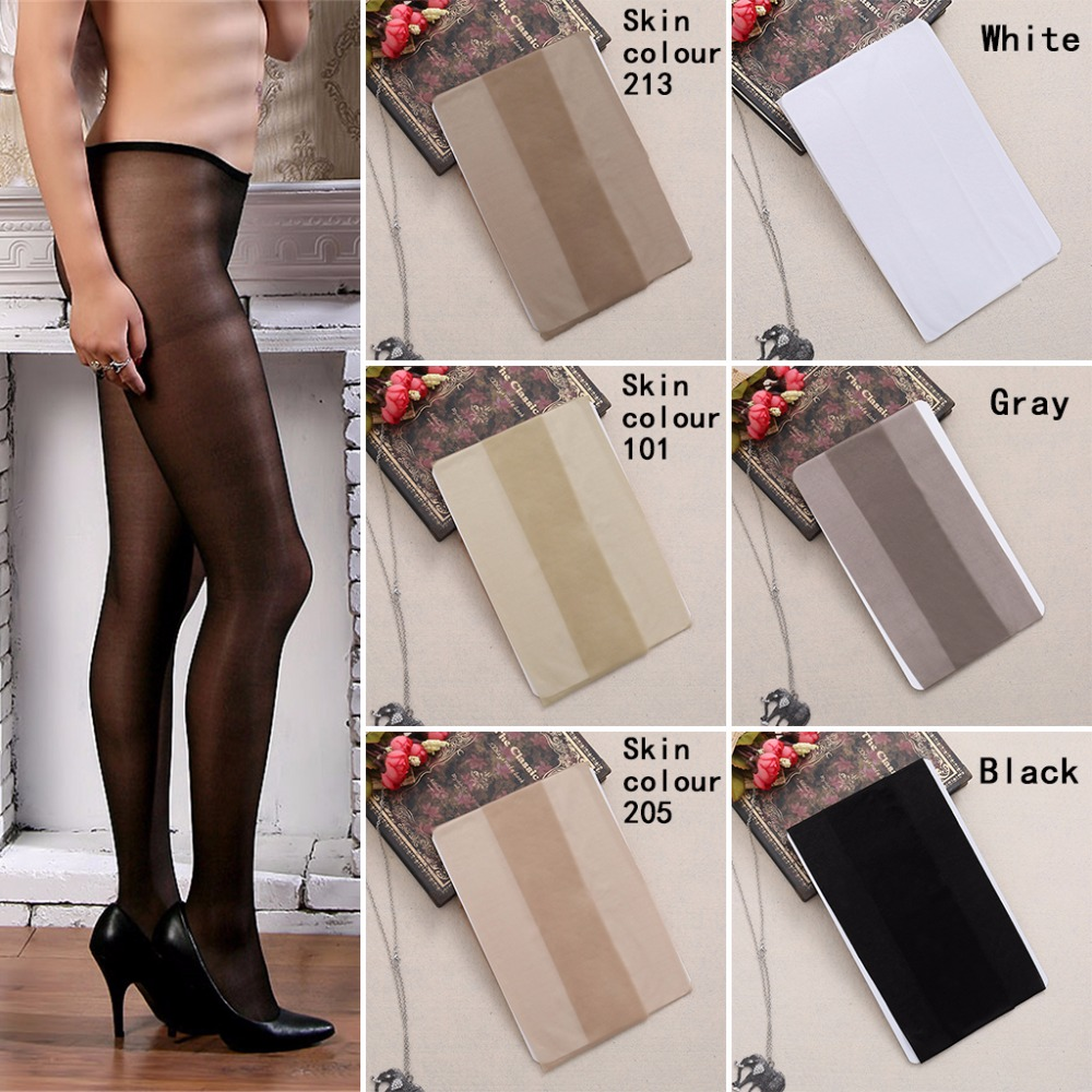 2366961ac Women Sexy Sheer Oil Shiny Glossy Classic Pantyhose Tights Stockings  Fashion New F05-in Tights from Underwear   Sleepwears on Aliexpress.com