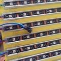 1 M longo endereçável DC5V WS2812B 32 LEDs levou rigd inteligente bar; IP68 avaliado, tipo U shell alu; pcb preto