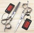 6 Дюймов Kasho Ножницы Япония Высокое Качество Профессиональные Парикмахерские Ножницы Для Стрижки Волос Ножницы Парикмахера Истончение Салон Набор