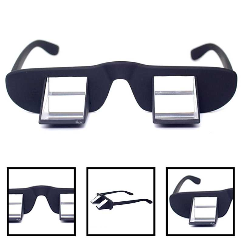 Lazy Refractive Glasses Climbing Goggles Prism Spectacles Reanding Watching TV Polarization Ergonomic Design Hiking