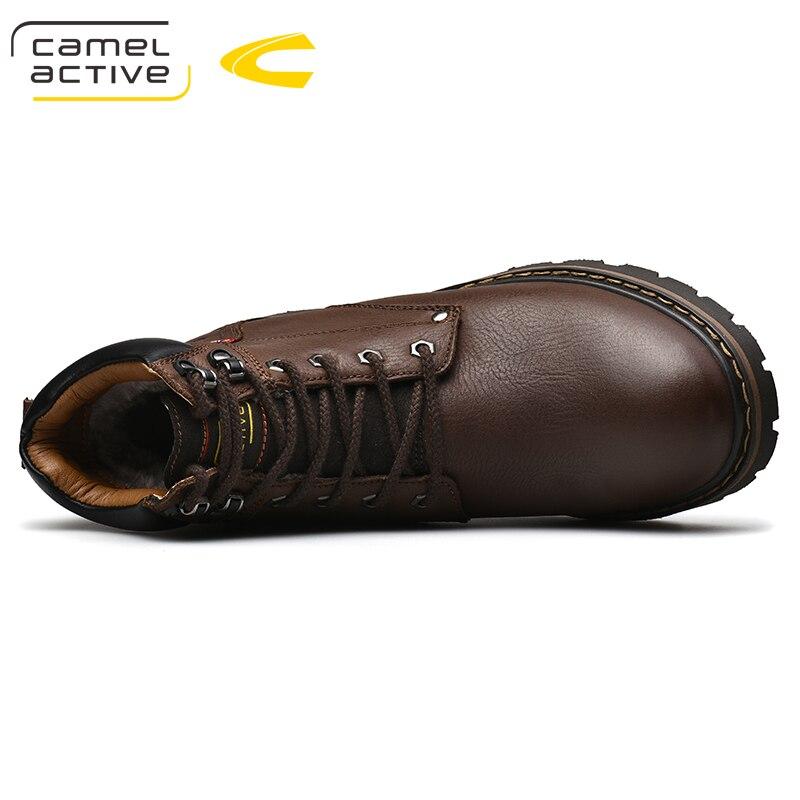 Женские и мужские ботинки из коровьей замши; сезон осень зима; повседневная мужская обувь на шнуровке; армейские ботильоны; Zapatos De Hombre - 5