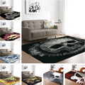 Домашний текстиль 3D ковер череп и ковер чайный коврик для стола мягкие фланелевые ковры для гостиной спальни коврики для детской комнаты де...