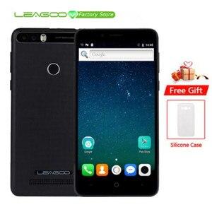 Image 1 - Leagoo Kiicaa Power 4000 мАч мобильный телефон 5,0 HD MT6580A четырехъядерный Android 7,0 2 Гб RAM 16 Гб ROM 8.0MP двойная задняя камера