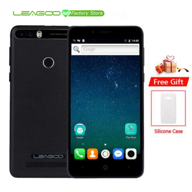 Leagoo Kiicaa Power 4000 мАч мобильный телефон 5,0 HD MT6580A четырехъядерный Android 7,0 2 Гб RAM 16 Гб ROM 8.0MP двойная задняя камера