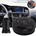 Bluetooth music adaptador del receptor de audio manos libres kit de coche con aux/tf tarjeta de música/fm función de radio para iphone para samsung