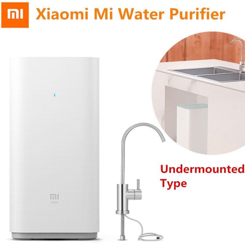 Xiaomi Purificateur D'eau Mijia Filtres À Eau Avancée RO Osmose Inverse De Purification d'eau Technologie Wifi App Contrôle Undermouted Type
