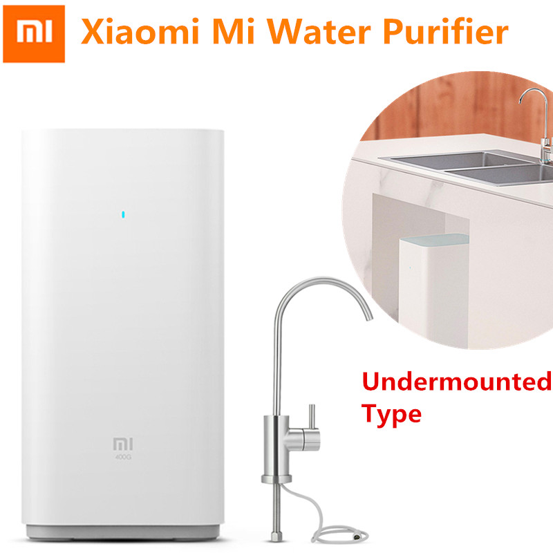 Xiaomi Water Purifier Mijia Water Filters Advanced RO Purification Reverse Osmosis Technology Wifi App Control Undermouted Type