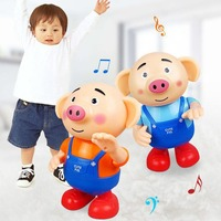 Cute Seaweed Pig Children'S Electric Toy For Boys Girls Gift Developmental Toy Educational