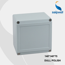 140 140 75mm Size Industrial Waterproof Aluminium Box With CE ROHS