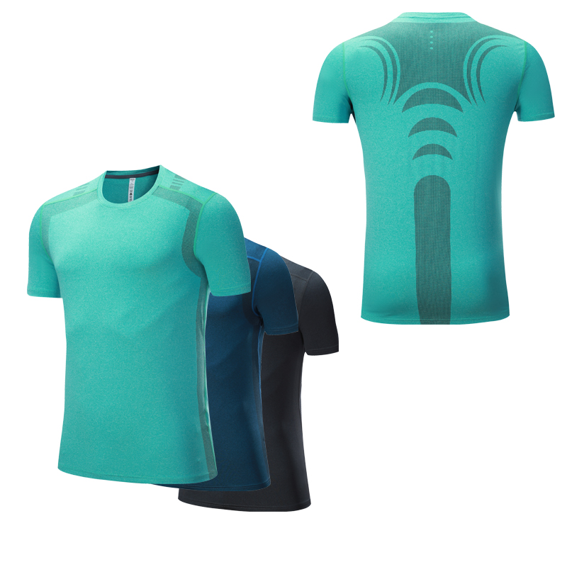 Workout Tops Men High QualityTraining tshirt Functional T-shirt Quick Dry Homme Shorts Sleeves Men Shirt Running Gym Fitness classic plaid pattern shirt collar long sleeves slimming colorful shirt for men