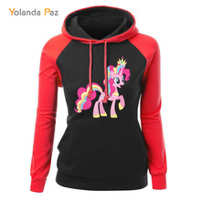 Yolanda Paz Unicorn Print Women Hoodies Sweatshirts
