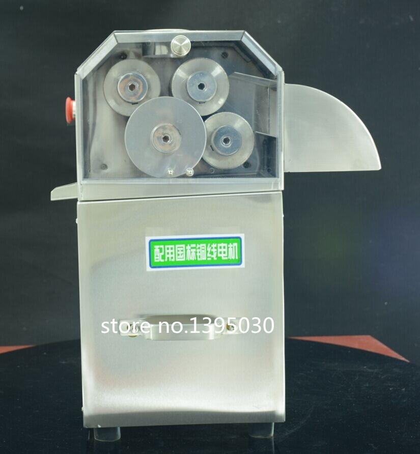 3 rollen/4 rollders (kan kiezen) rvs Elektrische suikerriet juicer Machine suikerriet juicer 1 set - 3
