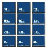 10PCS/Lot Wholesale Cheap CF Card Memory Card Compact Flash 32MB 64MB 128MB 256MB 512MB 1GB 2GB 4GB 8GB16GB 32GB 64GB Used