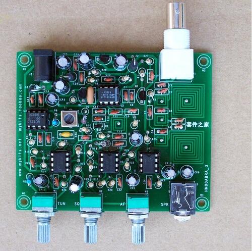 118MHZ~ 136 MHZ aviation band receiver kit High sensitive air radio module DIY kit