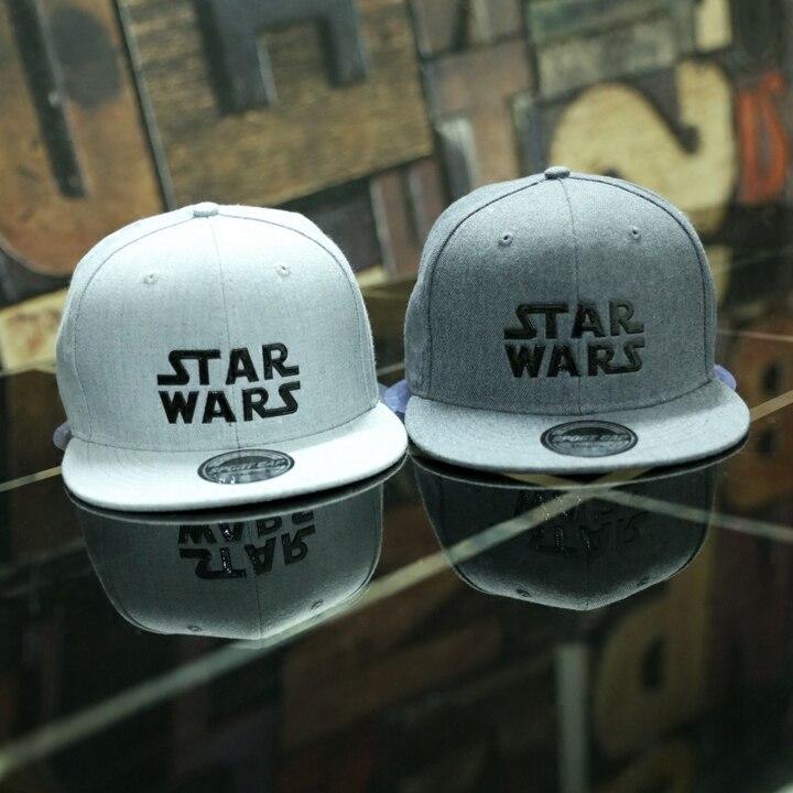 Prix pour Hot Film Star Wars Cosplay Cap Noir Nouveauté de bande dessinée Jedi Chevalier dames robe mans Chapeau charmes Costume Accessoires casquette de baseball