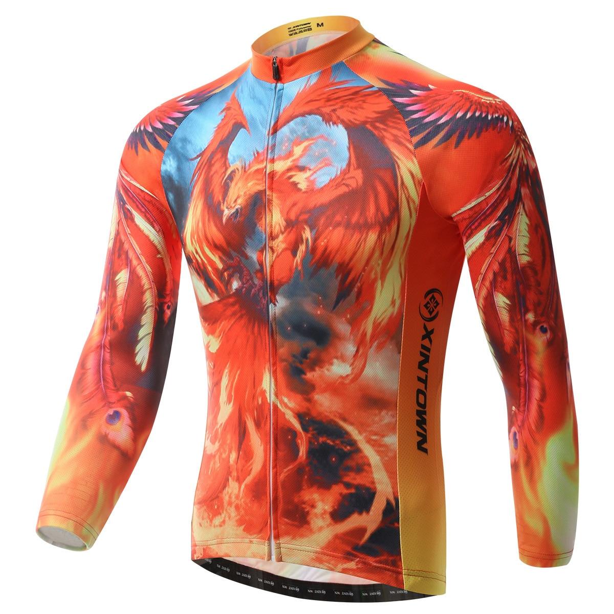 más vendido imágenes oficiales el más nuevo € 20.09 30% de DESCUENTO|Camiseta de Ciclismo manga larga hormiga sudor  Fénix fuego hombres Bicicleta camiseta Ciclismo Bicicleta exterior  carretera ...