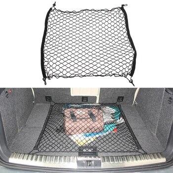 Trunk Luggage Cargo Net Car Mesh Storage Organizer 4 Hooks Car Stowing Tidying For Toyota Corolla RAV4 Prius Yaris Verso Passo