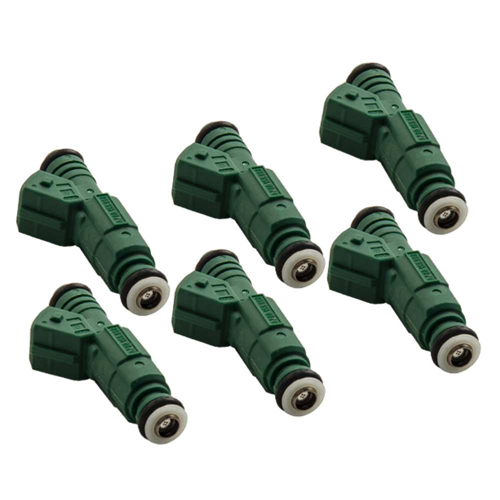 6pc Fuel Injectors 0280155968 440CC 42LB/HR For Ford Falcon BA BF XR6 TURBO for Audi Fuel Injector 100% original fuel injectors nozzle injection for vw audi skoda injector 03h 906 036 03h906036