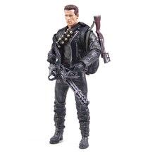 Klasik Film Arnold Schwarzenegger Bebek NECA Terminator 2 T800 Cyberdyne Showdown Modeli PVC Action Figure Oyuncak 18 cm