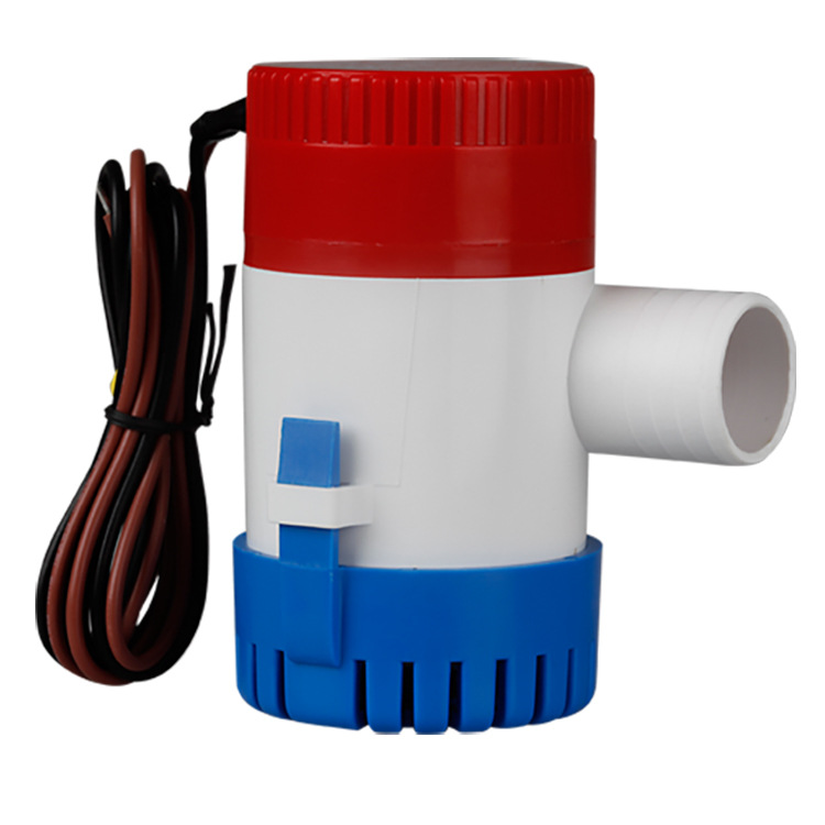 <font><b>750GPH</b></font> 1100GPH <font><b>12V</b></font> 24V <font><b>Bilge</b></font> <font><b>Pump</b></font> 2m3/h small DC Submersible Solar water <font><b>pump</b></font> Fountain garden irrigation swimming pool image