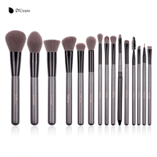 DUcare New 15 Pcs Makeup Brushes Set Professional Foundation Eye Shadow Brush High Quality Cosmetic Make up Brush Kit
