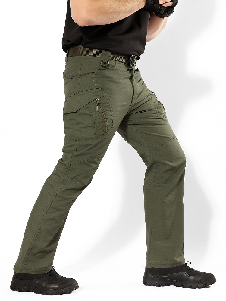 Men IX9 City Tactical Cargo Pants Men Combat Army Military Pants Cotton Multi Pockets Stretch Flexible Casual Trousers Men 5XL