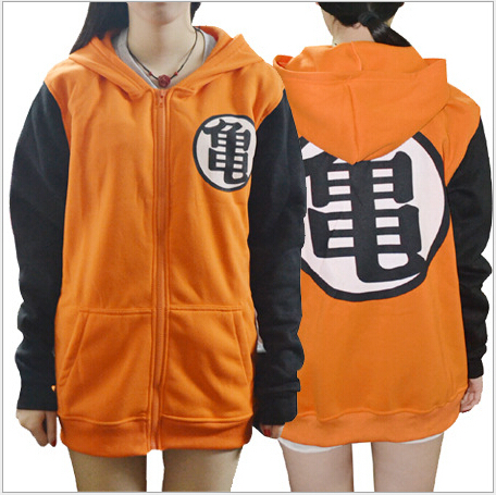 Anime Cosplay Dragon Ball Z GoKu Costume Turtler Clothing Hoodies Japan Cartoon Dragonball Kongfu Unisex Hoodie Women