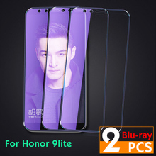 Anti-blue Light Tempered Glass For Huawei P 10 20 lite Screen Protector Honor 8 9 Protective 2PCS