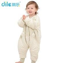 New Baby Sleeping Bag Washing Cotton Children Sleepsacks Winter Legs Apart Kids Pajamas Thicken Warm Children Blanket
