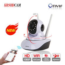 KRSHDCAM 1080P WIFI IP Camera Wireless Security CCTV IR Night Vision Audio Recording Surveillance Network Indoor Baby Monitor