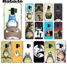 Studio Ghibli Spirited Away My Neighbor Totoro Phone Case For Samsung Galaxy s9 s8 plus note 8 note9 s7 s6edge funda Babaite