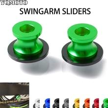 hot deal buy motorcycle accessories parts for kawasaki swingarm spool sliders 6mm 8mm swing arm spools sliders