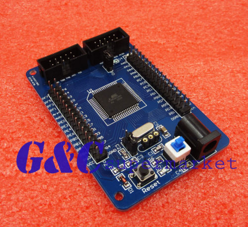 ATMega128 M128 AVR Minimum Core Development system board Module ISP JTAG