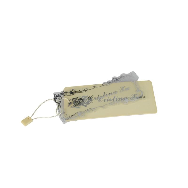 Etiquetas colgantes de papel OEM marca personalizada etiqueta de ropa VK248-in Etiquetas de la ropa from Hogar y Mascotas    1