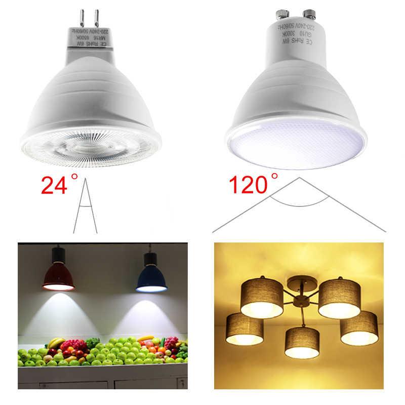 E27 E14 MR16 GU10 лампада светодиодные лампочки 220 V 240 V Bombillas лампа 5 Вт 6 Вт, 7 Вт, 9 Вт, 12 Вт, светодиодный потолочный светильник прожектор 36 60 80 светодиодный s SMD 2835 Светодиодный прожектор