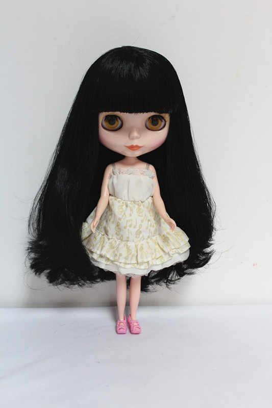 O Envio gratuito de big desconto RBL-20DIY Nude Blyth boneca de presente de aniversário para menina 4 cores grandes olhos bonecas com Cabelo bonito brinquedo bonito