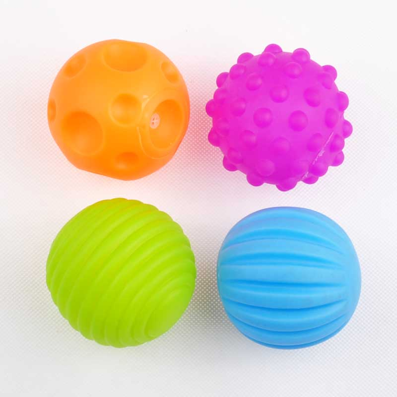 Baby Sphère baby touch hand ball toys baby training ball massage soft ball for